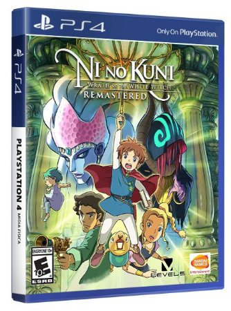 Ni no Kuni: Wrath of the White Witch Remastered PS4 Mídia Fisica
