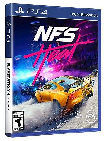 Need For Speed Heat PS4 Mídia Fisica
