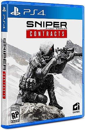 Sniper Ghost Warrior Contracts PS4 Mídia Fisica