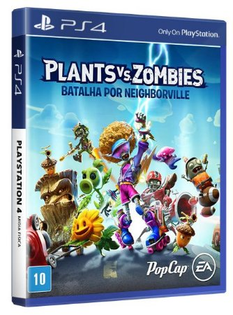 Plants vs Zombies Batalha por Neighbordville PS4 Midia Fisica