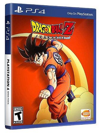 Dragon Ball Z: Kakarot PS4 Mídia Fisica