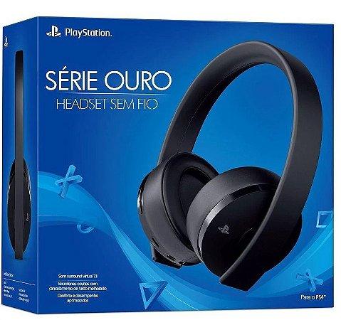 Headset Sony Série Ouro 7.1 Para Ps3 / Ps4 / Psvita