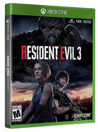 Resident Evil 3 Xbox One Mídia Fisica