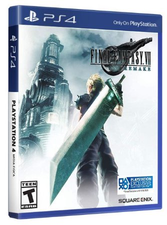 Final Fantasy VII PS4 Mídia Fisica