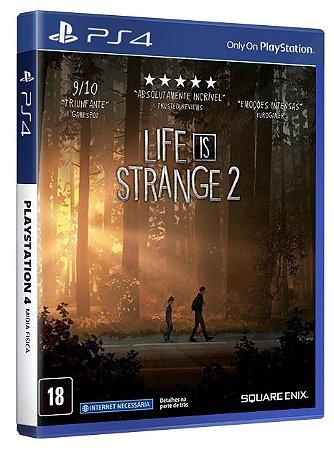 Life is Strange 2 PS4  Mídia Física
