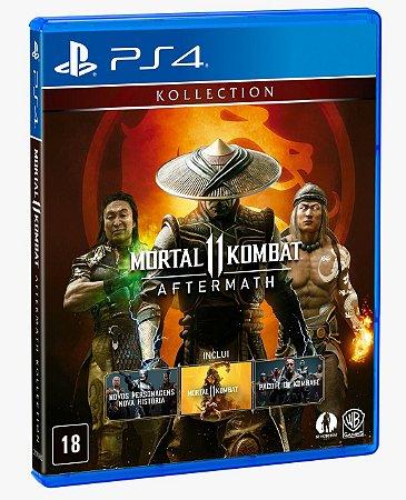 Mortal Kombat 11: Aftermath PS4 Midia Física