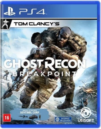 Tom Clancys Ghost Recon Breakpoint PS4 Midia Fisica
