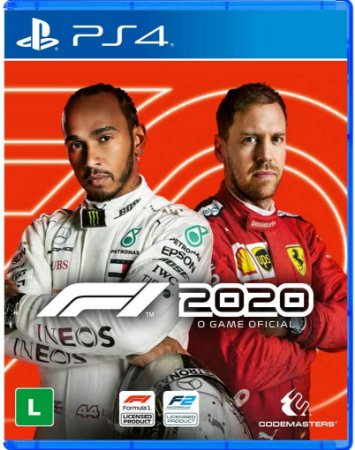 F1 2020 PS4 Mídia Fisica