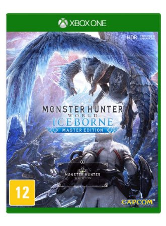 Monster Hunter Iceborne Xbox One Midia Fisica