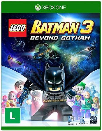 Lego Batman 3 Beyond Gotham Xbox One Midia Fisica