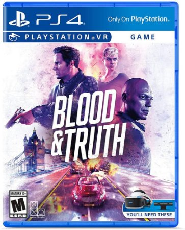 Blood & Truth VR PS4 VR MIDIA FISICA