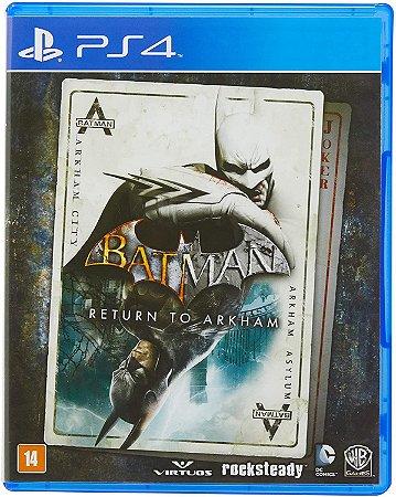 Batman Return to Arkham PS4 MIDIA FISICA