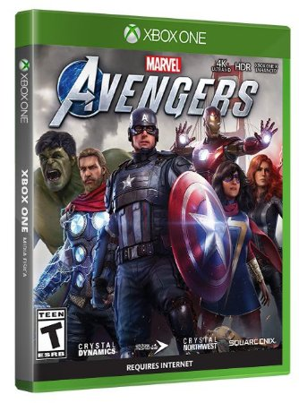 Marvels Avengers Xbox One Midia Física