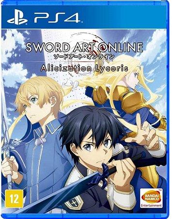 Sword Art Online Alicization Lycoris PS4 Midia Fisica