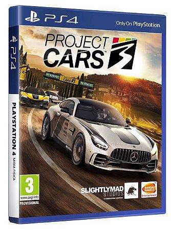 Project Cars 3 PS4 Mídia Fisica