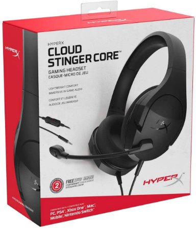 Headset Gamer HyperX Cloud Stinger Core PC PS4 Xbox One Nintendo Switch e Mobile