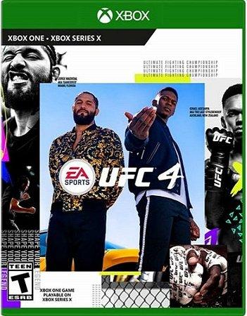 UFC 4 Xbox One Midia Fisica