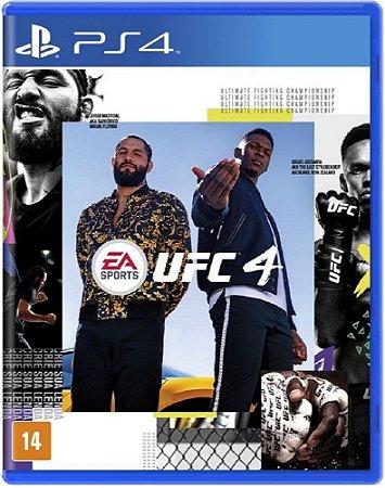 UFC 4 PS4 Midia fisica