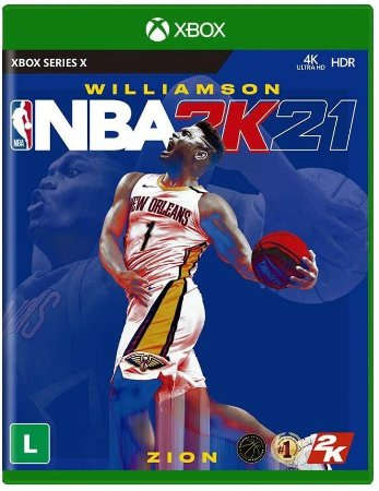 NBA 2K21 Xbox One S X Mídia Física