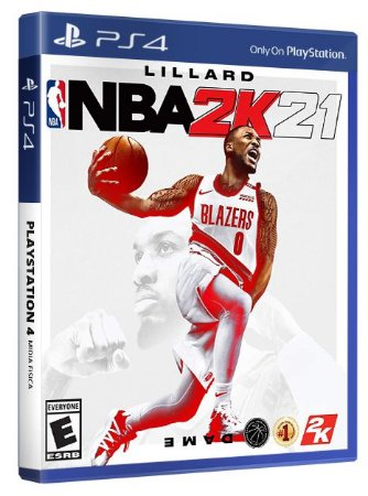 NBA 2K21 PS4 Mídia Física