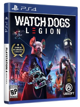Watch Dogs Legion PS4 Mídia Física
