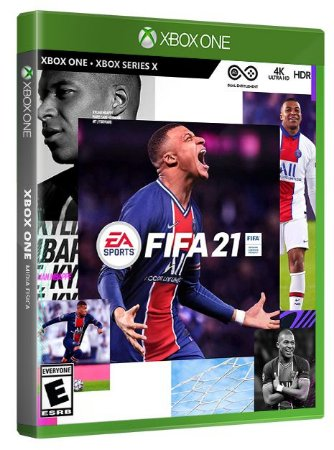 Fifa 21 Xbox One Midia Física