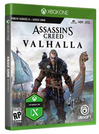 Assassins Creed Valhalla Xbox One Mídia Fisica