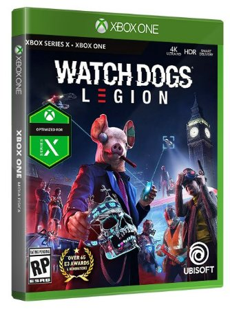 Watch Dogs Legion Xbox One Mídia Física
