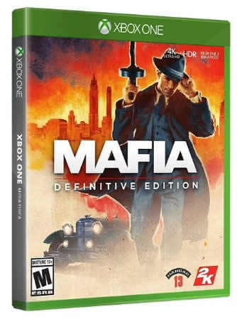 Mafia Definitive Edition Xbox One Mídia Fisica