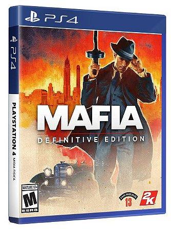 Mafia Definitive Edition PS4 Midia Física