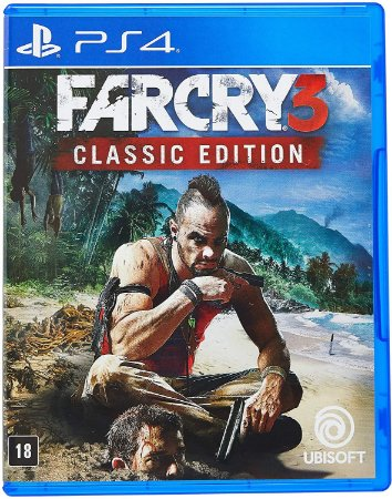Far Cry 3 Classic Edition PS4 Midia Fisica