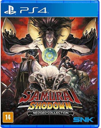Samurai Shodown Neogeo Collection PS4 Midia Fisica