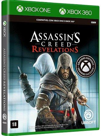Assassins Creed Revelations Xbox One e Xbox 360 Midia fisica