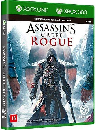 Assassins Creed Rogue Xbox One e Xbox 360 Midia Fisica
