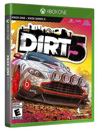 Dirt 5 Xbox One Mídia Fisica