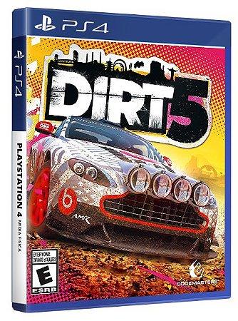 Dirt 5 PS4 Mídia Fisica