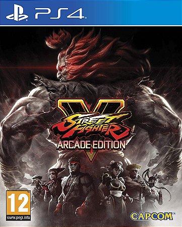 Street Fighter V Arcade Edition PS4 Midia Fisica