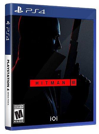 Hitman 3 PS4 Midia Física