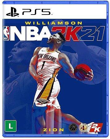 NBA 2K21 PS5 Mídia Fisica
