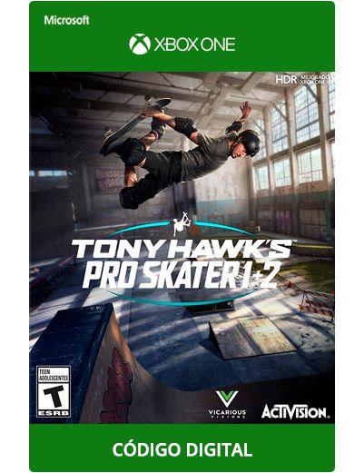 Tony Hawk's Pro Skater 1 + 2 Xbox One S X
