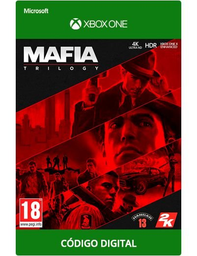 Mafia Trilogy Xbox One S|X