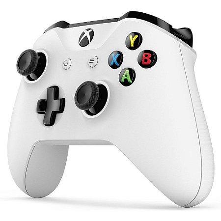 Controle Sem fio para Xbox One Slim Branco