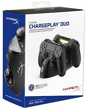 HyperX ChargePlay Duo Carregador Duplo para Controle de PS4