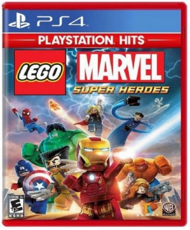 Lego Marvel Super Heroes PS4 Midia Fisica