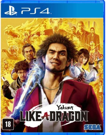 Yakuza Like A Dragon PS4 Midia Fisica
