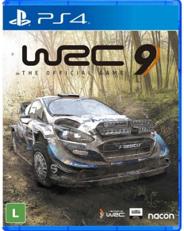 WRC 9 PS4 Midia Fisica