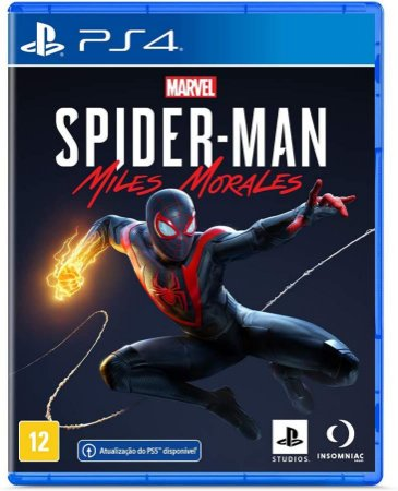 Marvels SpiderMan Miles Morales PS4 Midia Fisica