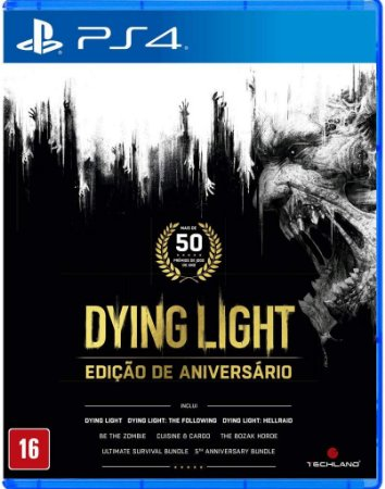 Dying Light Anniversary Edition PS4 Midia Fisica