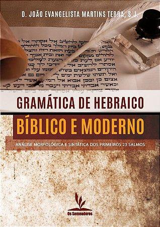 Livro impresso - Gramática de Hebraico Bíblico e Moderno