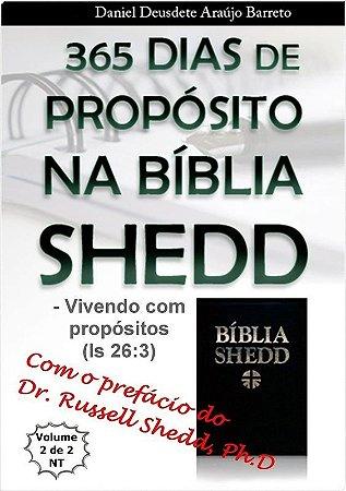 eBook - 365 Dias de Propósitos na Bíblia SHEDD - Vol II
